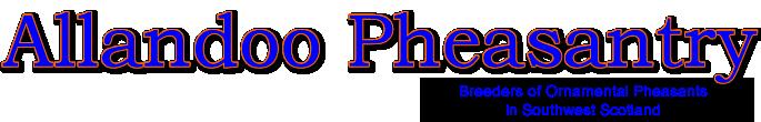 Allandoo Pheasantry